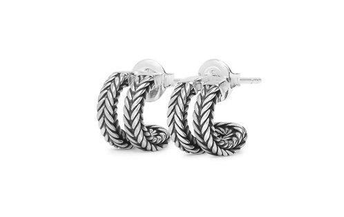 114 Buddha to Buddha Barbara Link Earrings silver