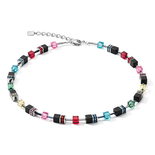 4018-10-1581 Coeur de Lion collier Multicolor Pop Art