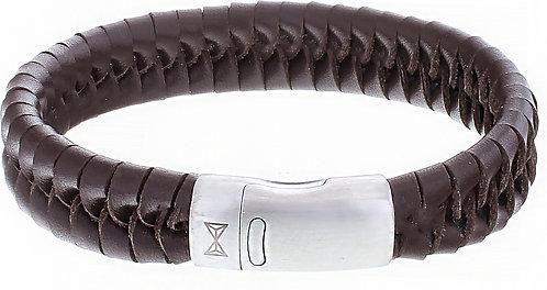AZ-BL009-B-210 Twisted Wave Brown  Aze Jewels