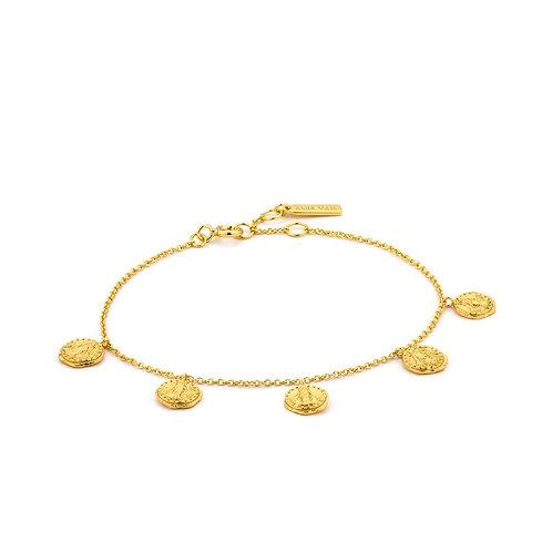 Ania Haie B009-01G Deus Bracelet M