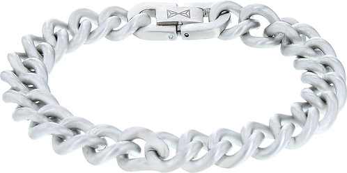 AZ-BM002-A-210 Gourmette Satin - Inox  Aze Jewels