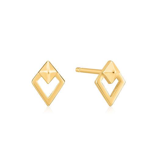 E025-08G Ania Haie Spike Diamond Stud Earring
