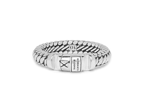 613 Buddha to Buddha Ben XS Lock Ring Silver
