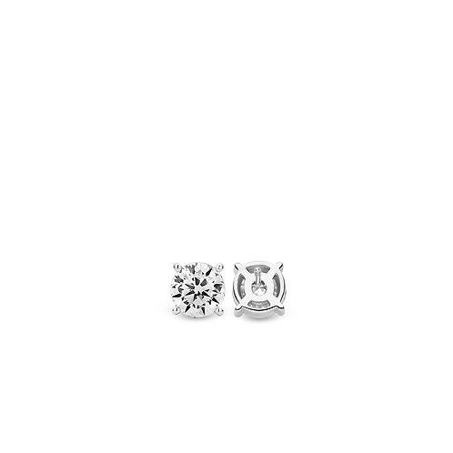 7321ZI Ti Sento zilveren oorstekers met zirconia