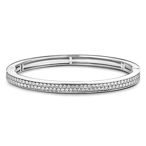 2807ZI Ti Sento zilveren armband met zirconia