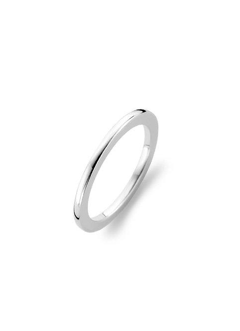 1470SI Ti Sento zilveren ring