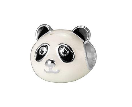 567465 Bellini zilveren bedel emaille panda