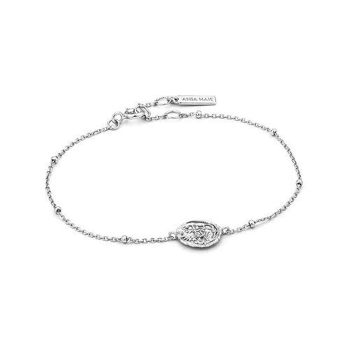 Ania Haie B009-02H Emblem Beaded Bracelet M