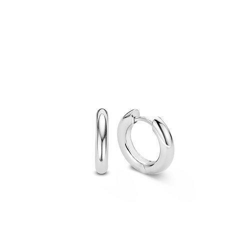 7557SI Ti Sento zilveren oorringen 18mm