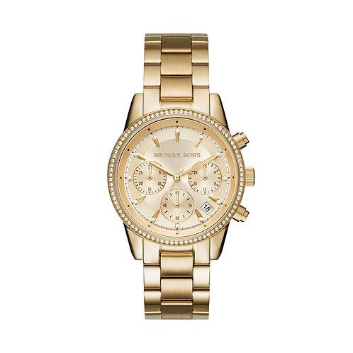 MK6356 Michael Kors Ritz horloge