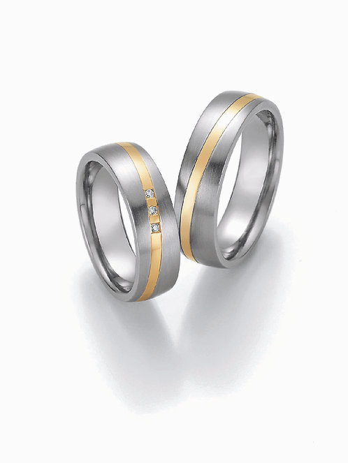 88-01870-01880 Collection Ruesch White Style Steel & Gold Brilliant