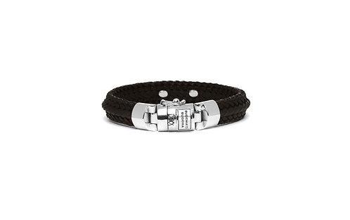 816BR Buddha to Buddha Nurul Small Leather Bracelet Brown