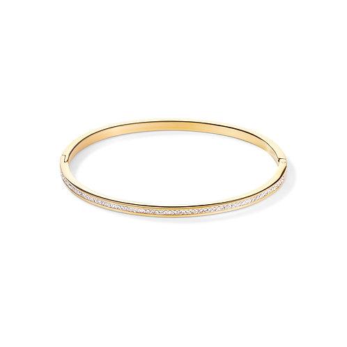 0129-37-1816 Coeur de Lion bangle crystal gold