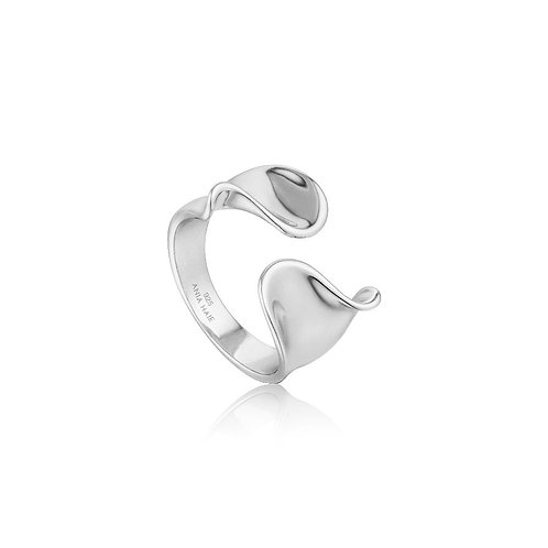 Ania Haie R012-03H Twist Wide Adjustable ring S