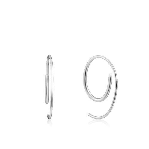 Ania Haie E023-08H Twist Through Earrings S