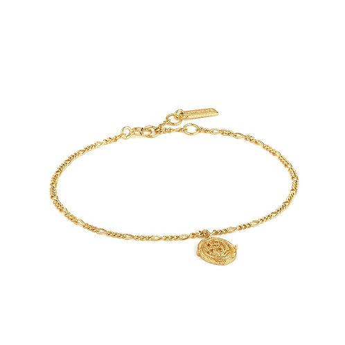 Ania Haie B020-02G Axum Bracelet  M