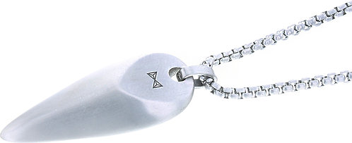 AZ-NL003-A-070 Necklace Triangle - Inox  Aze Jewels