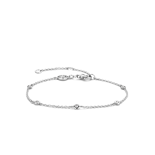 2974ZI Ti Sento zilveren armband met zirconia