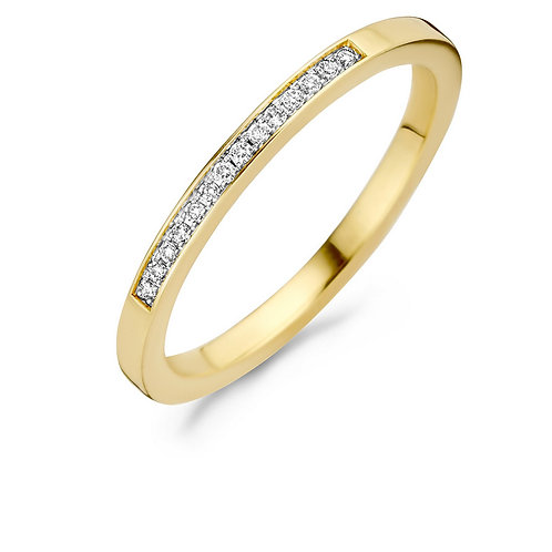 1630BDI Blush ring Diamonds geelgoud 0,06ct
