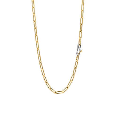 3947SY/48 Ti Sento zilver verguld collier