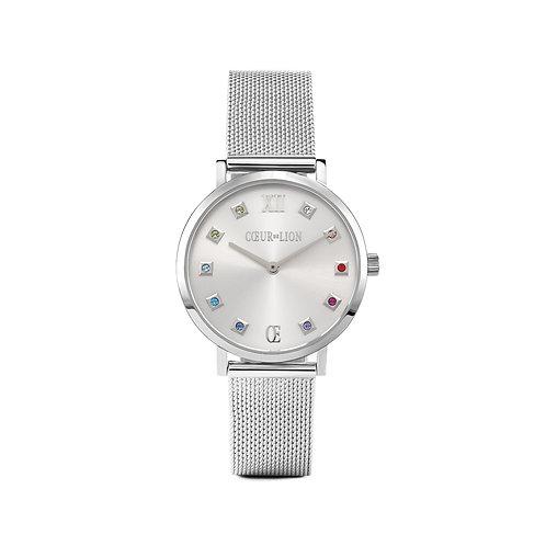 7610-70-1717 Coeur de Lion horloge Silver