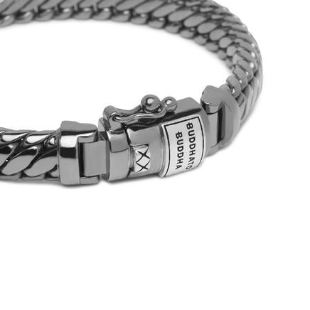 Ben XS Bracelet Black Rhodium Shine Silv