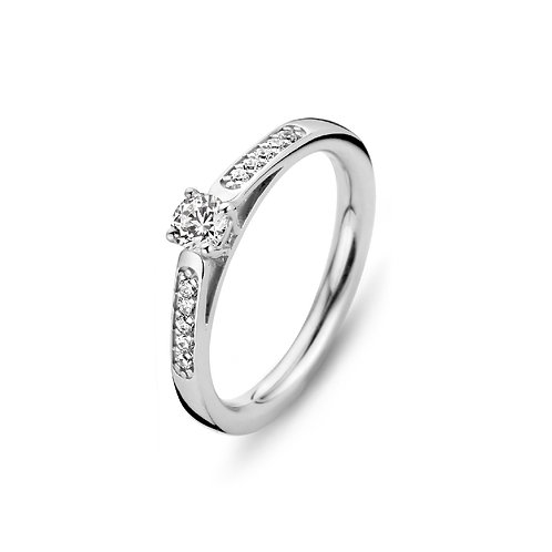 15122AW Moments Classics zilveren ring