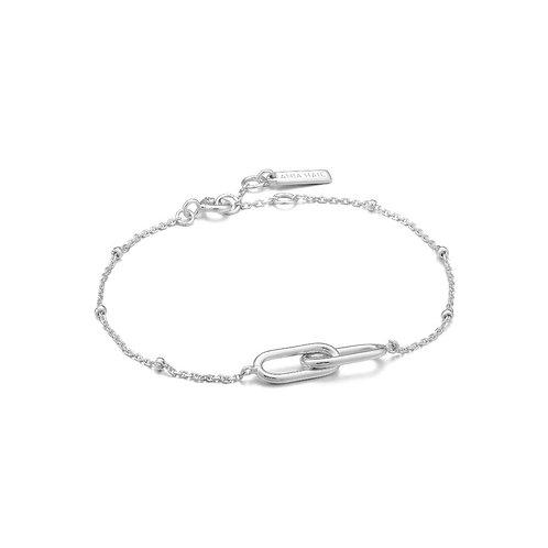 Ania Haie B021-01H Beaded Chain Link Bracelet M