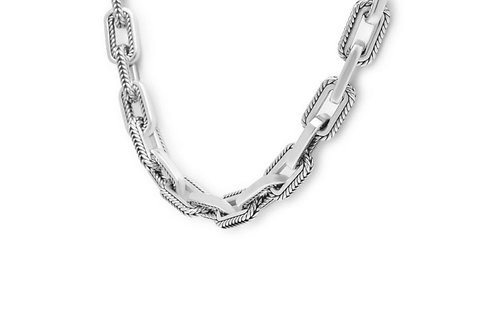 120-45 Buddha to Buddha  Barbara Link necklace silver 45cm