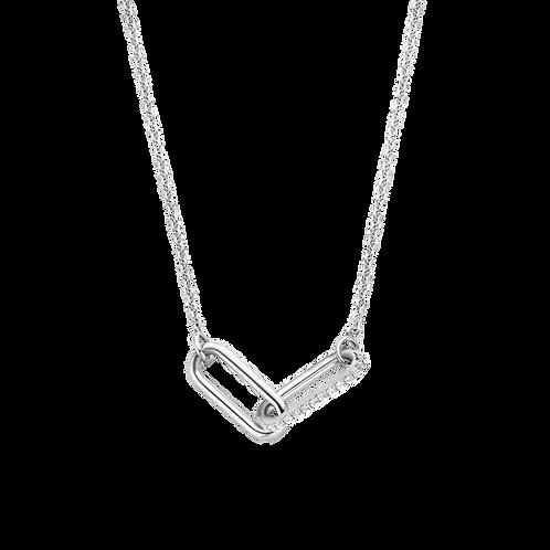 3966ZI/42 Ti Sento zilveren collier schakel