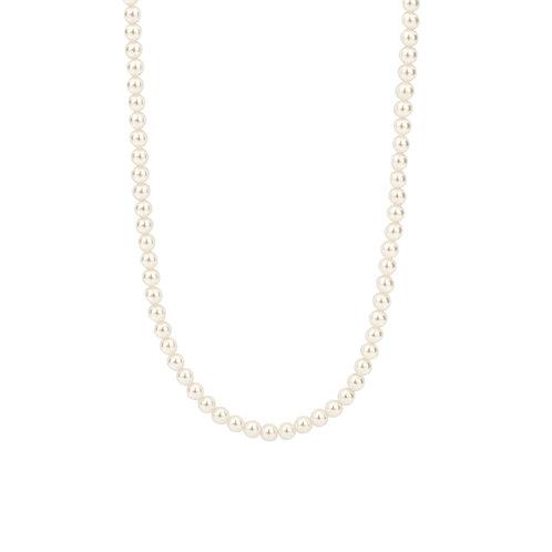 3916PW/42 Ti Sento zilveren collier parel
