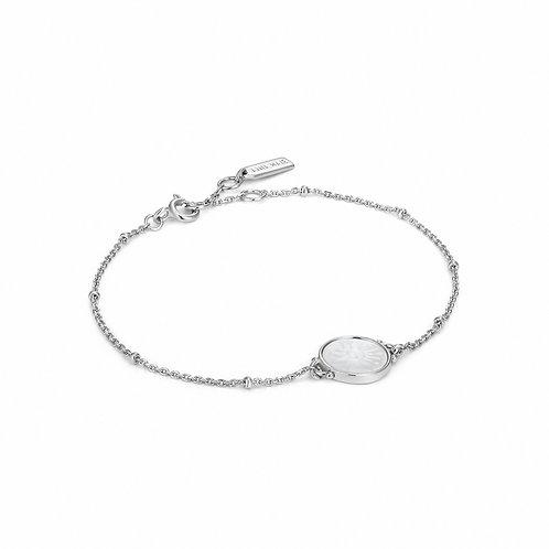 B030-03H Ania HaieSunbeam Emblem Silver Bracelet