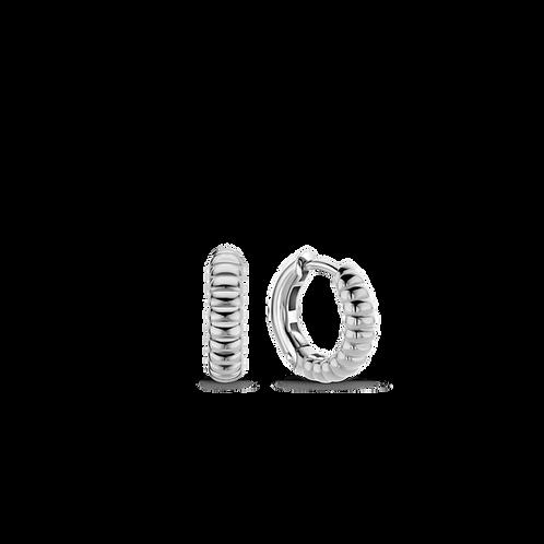 7839SI Ti Sento zilveren oorringen