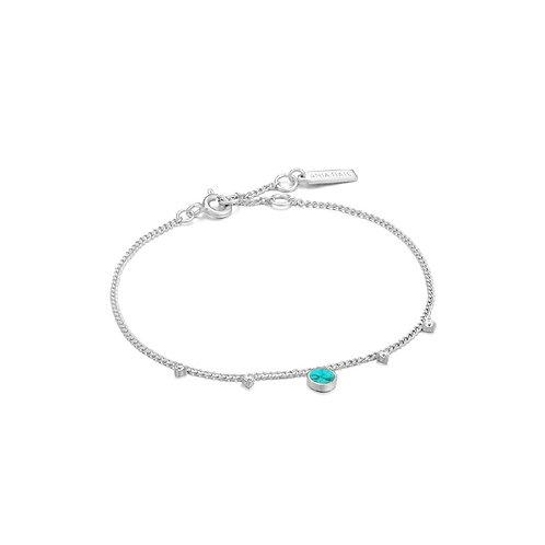 Ania Haie B022-03H Turquoise Drop Bracelet M