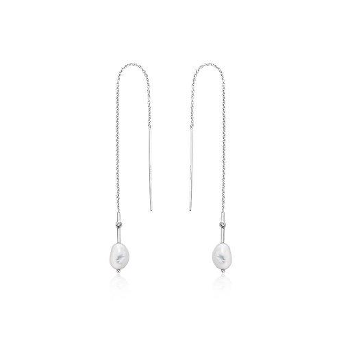 Ania Haie E019-01H Pearl Threader Earrings M