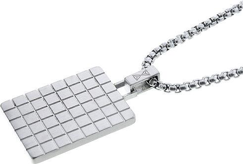 AZ-NL004-A-070 Necklace Square Identity  Aze Jewels