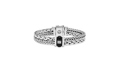 105 Buddha to Buddha Barbara/George onyx bracelet