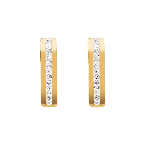 0326-21-1800 Coeur de Lion oorstekers crystal