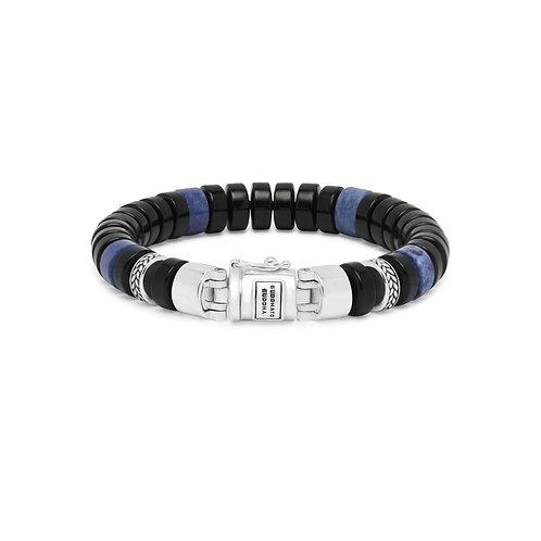 202OS Buddha to Buddha Spirit Bead Onyx Sodalite armband