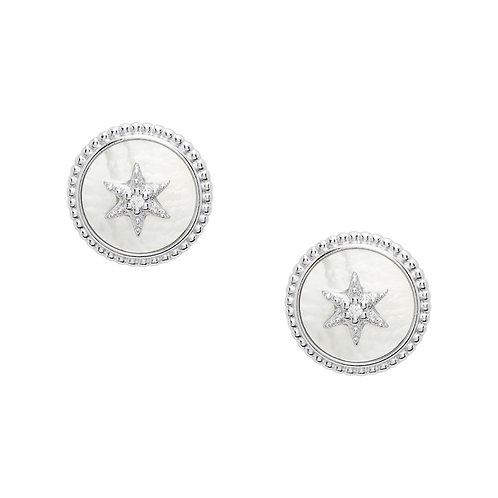 JFS00500040 Fossil Silver oorbellen