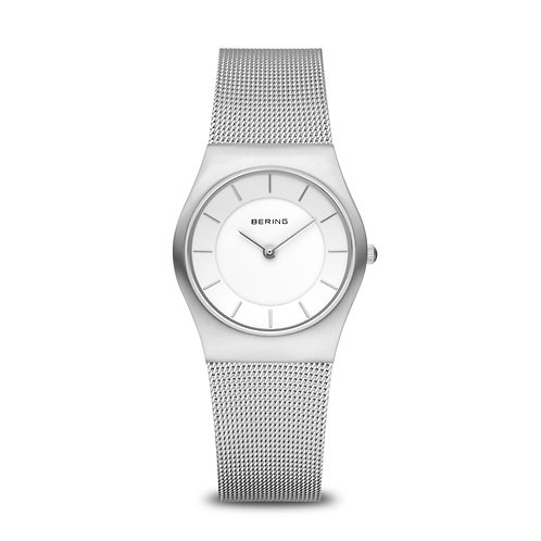 11930-001 Bering Classic dames horloge staal saffierglas