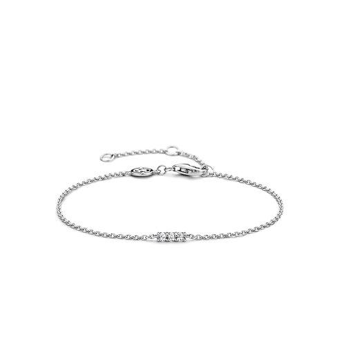 2975ZI Ti Sento zilveren armband met zirconia