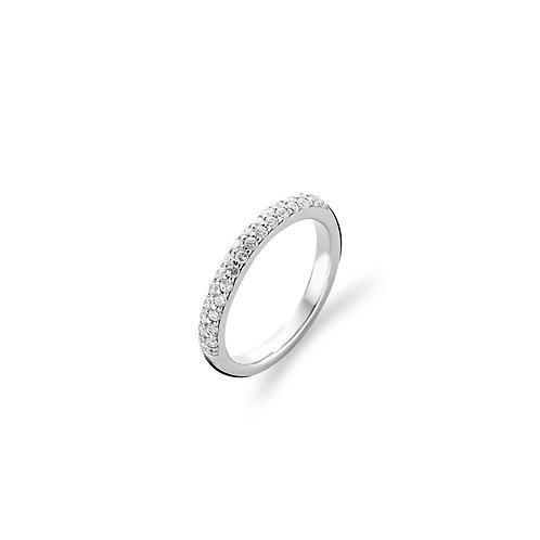 1414ZI Ti Sento zilveren ring met zirconia