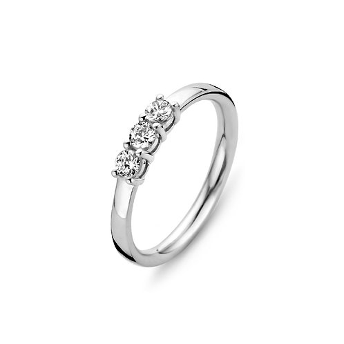 15115AW Moments Classics zilveren ring