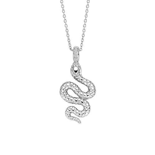 3923SI/42 Ti Sento zilveren collier