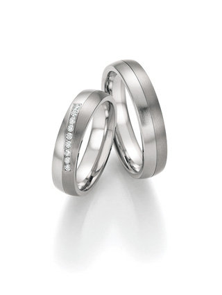 68-06110-06120 Collection Ruesch White Style Steel Titan Brilliant
