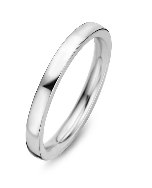 15127AW Moments Classics zilveren ring