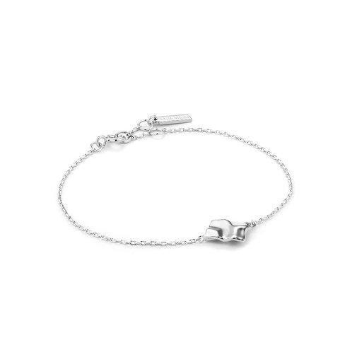 Ania Haie B017-02H Crush Square Bracelet M