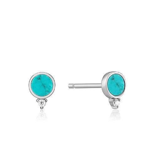 Ania Haie E022-01H Turquoise Stud Earrings S