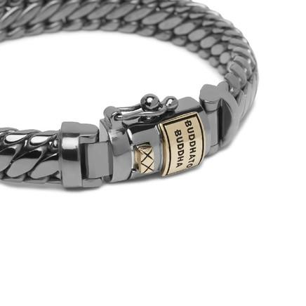 Ben XS Bracelet Black Rhodium Shine Gold